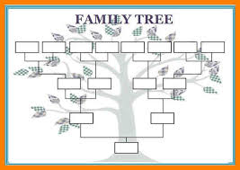 printable family tree charts medical chart template template tree templates blank family