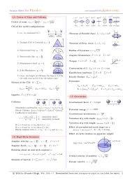 fluid mechanics cheat sheet formulae sheets for physics