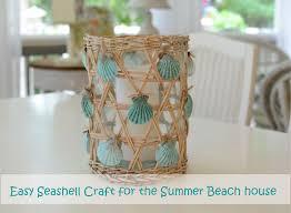 Craft For Nautical Beach House DecoratingSeashell Home Decor