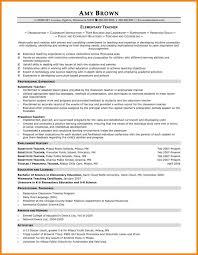 Sample Resume Of A Teacher In High School Resume Template