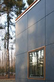 We Need To Do This Instead Of Wood For Our Siding Modern Exterior Beauteous Modern Exterior Cladding Panels Concept Property