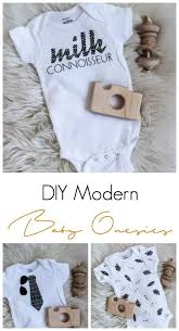 Patterned Iron On Vinyl Mesmerizing DIY Modern Baby Onesies [with Cricut's New Patterned Iron On Vinyl