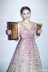 joe chen qiao en page  joe received best actress award
