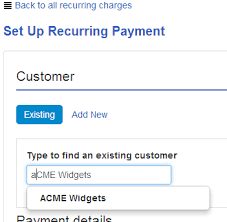 Automatic Withdrawal Form Template Create A Recurring Credit Card Payment Quickbooks Community