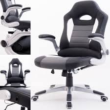 metal office chairs. Exellent Metal RayGar Supreme Racing Gaming Swivel Office Chair  Black On Metal Chairs A
