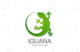 Lizard Logo Design Lizard Logo Design Vector Template Iguana Icon Illustration Salamander