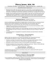 Objective For Lpn Resumes Registered Nurse Rn Sample Monster Nursing Entry Level
