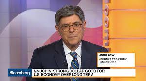 Former Treasury Secretary Jack Lew on the Trump Economy - Bloomberg