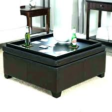 ottoman coffee table with tray marvelous ottoman coffee table tray trays for ottomans trays for coffee table the best round coffee 4 tray top black leather