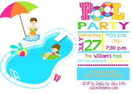 Free Pool Party Invitations Printable Free Blank Pool Party Invitations Sepulchered Com