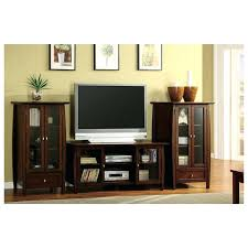 entertainment center glass door cherry finish wood entertainment center wall unit with framed glass entertainment center with sliding glass doors