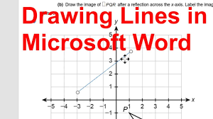 This wikihow teaches you how to add automatic line numbering to a microsoft word document in windows or macos. Drawing Lines In Microsoft Word 2016 Youtube
