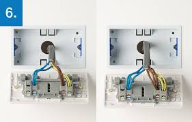 how to upgrade 2 gang socket bg electrical accessories alternatively there could be two or three wires of each colour connected to each terminal