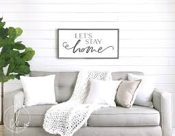 living room wall decor with family