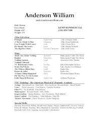 Musical Theater Resume Sample Best Of Music Resume Template Eukutak