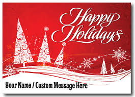 Custom Logo Holiday Postcard [PC619] : Harrison Greetings ...