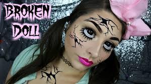ed doll makeup tutorial beautybyjosiek broken doll makeup 2018