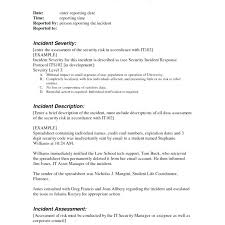 To Security Guard Report Example Daily Incident Template Anteam Co