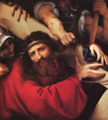 picture of the day christ carrying the cross