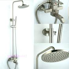 brushed nickel bathtub faucet marvelous brushed nickel shower faucet faucet brushed nickel bathtub faucet handles kohler