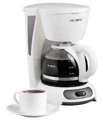 5 Cup Coffee Maker Mr Coffee Tf4 4 Cups Coffee Maker White Ebay
