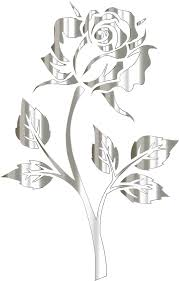 Image result for silver flowers