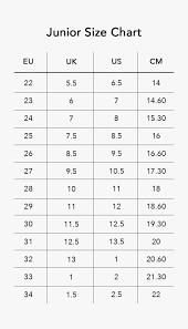 75 Specific Shoe Size Chart Singapore