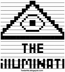 Text Art Copy Paste The Illuminati Ascii Text Art Symbol Cool Ascii Text Art 4 U