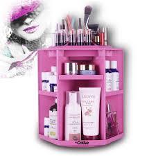 White Makeup Organizer Aliexpresscom Buy Hicollie Tabletop Big Capacity 360 Rotating