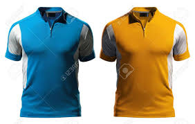 New Polo T Shirt Designs Blank Polo T Shirt Design Template Front With Zipper Isolated