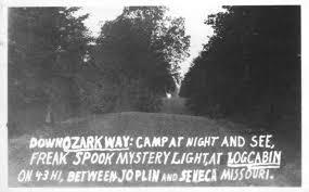 The Spook Light In Joplin Missouri Spook Light Postcard Spook Light Chronicles Home Sweet