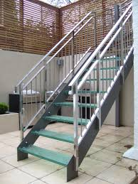 Outside Metal Staircase - http://www.potracksmart.com/outside-. Stair  BanisterStair ...