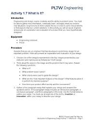 a whatisit essays engineering design process