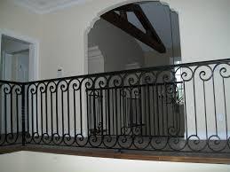 Exterior Wrought Iron Railing Parts