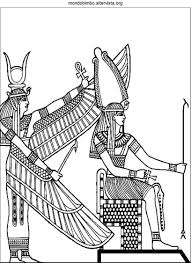 Antichi Egizi Da Colorare Online