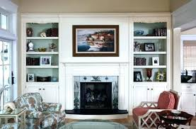 floating shelves fireplace white fireplace with shelves white built in bookcase around fireplace white electric fireplace