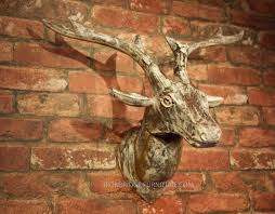white washed mango wood. WHITE WASHED DEER / STAG HEAD - SOLID MANGO WOOD White Washed Mango Wood I