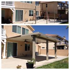 aluminum patio covers kits. Patio Cover Kit \u2013 Best Of Before And After Construction An Aluminum Covers Kits
