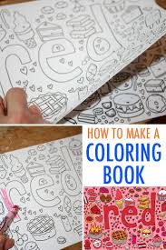 Make Your Own Coloring Book Free Tutorial