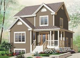 Multi family plan W B detail from DrummondHousePlans comfront   BASE MODEL bedroom farmhouse house plan   one bedroom bedroom basement appartment