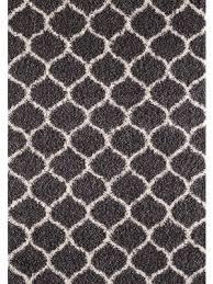 dark grey ivory area rug