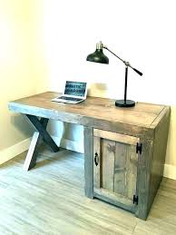 farmhouse writing desk our weathered distressed