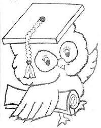 Dibujos Para Colorear De Graduación Leren Leren Kleurplaten