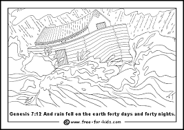 Church house collection blog jesus lives in my heart coloring. Noah S Ark Colouring Pages Www Free For Kids Com