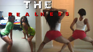 Black hood girls twerking