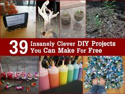 Diy Projects 39 Insanely Clever Diy Projects You Can Make For Free
