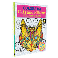 Amazon Com Colorama Cats Kittens Coloring Pages For Adults And