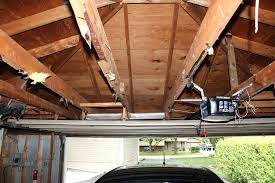 low ceiling garage door opener overhead zero clearance genie