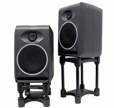 my isoacoustics small pair monitor speaker stands