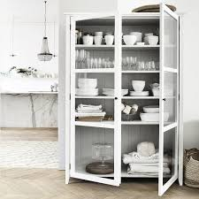 gallery of astounding white hutch with glass doors